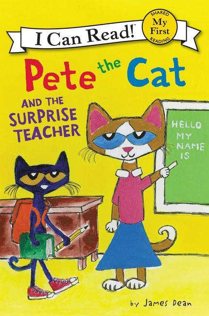 Pete the Cat and the Surprise Teacher book