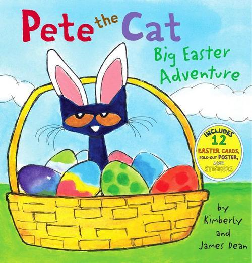 Pete the Cat: Big Easter Adventure book
