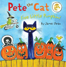 Pete the Cat: Five Little Pumpkins book