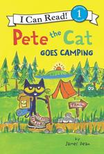 Pete the Cat Goes Camping book