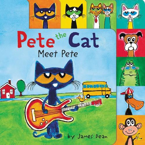 Pete the Cat: Meet Pete book