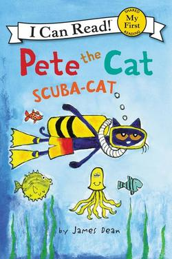 Pete the Cat: Scuba-Cat book