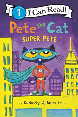 Pete the Cat: Super Pete book
