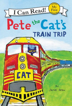Pete the Cat's Train Trip book