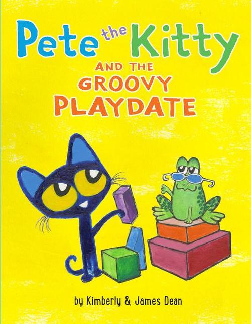 Pete the Kitty and the Groovy Playdate book