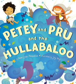 Petey and Pru and the Hullabaloo book