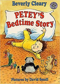 Petey's Bedtime Story book