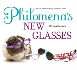 Philomena's New Glasses book