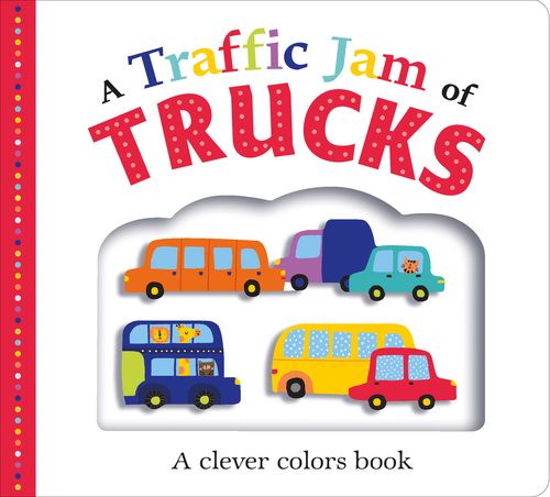 Picture Fit Board Books: A Traffic Jam of Trucks Book