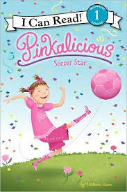 Pinkalicious: Soccer Star book