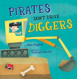 Pirates Don't Drive Diggers book
