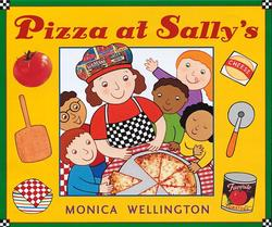 Pizza at Sally's book
