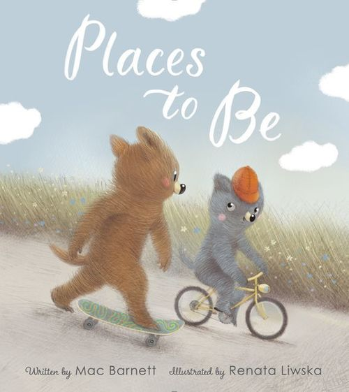 Places to Be book
