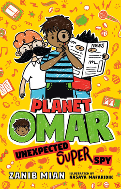 Planet Omar: Unexpected Super Spy book