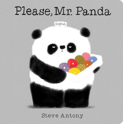 Please, Mr. Panda (A Board Book) book