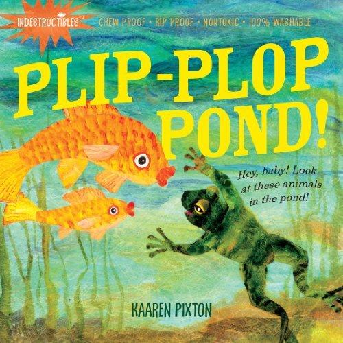 Plip-Plop Pond! book