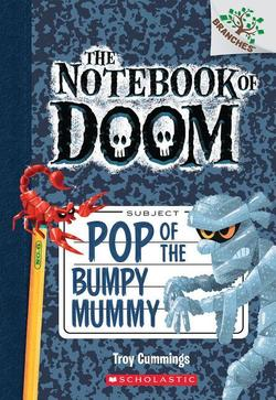 Pop of the Bumpy Mummy book