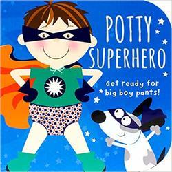 Potty Superhero book