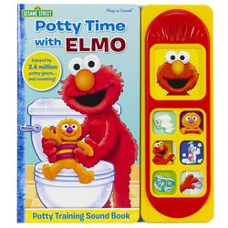 Potty Time with Elmo book