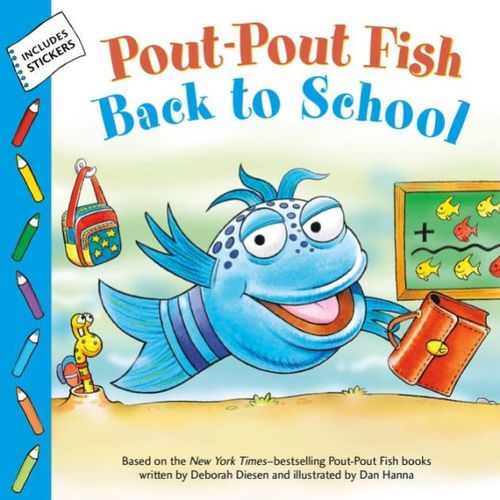 Pout-Pout Fish: Back to School Book