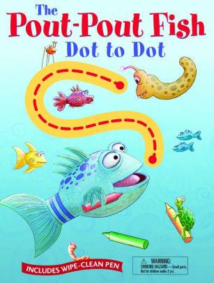 Pout-Pout Fish Wipe Clean Dot to Dot book