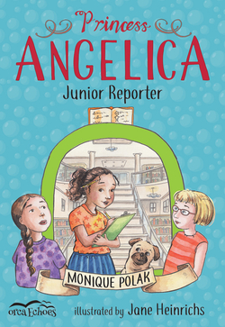 Princess Angelica, Junior Reporter book