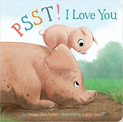 Psst! I Love You book