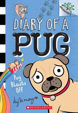 Pug Blasts Off book