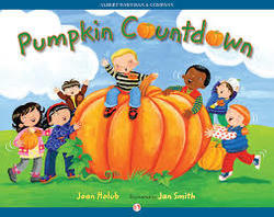 Pumpkin Countdown book