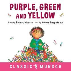 Purple, Green and Yellow book