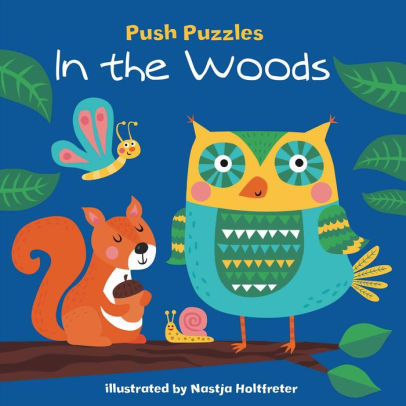 Push Puzzles: In the Woods Book