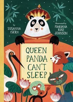 Queen Panda Can't Sleep book