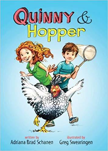 Quinny & Hopper book