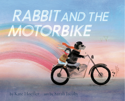 Rabbit and the Motorbike book