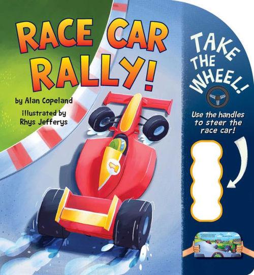 Race Car Rally! book