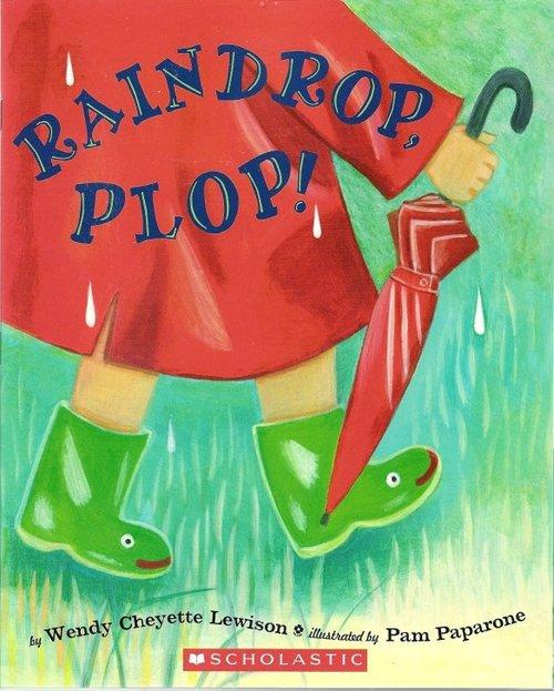 Raindrop, Plop! book