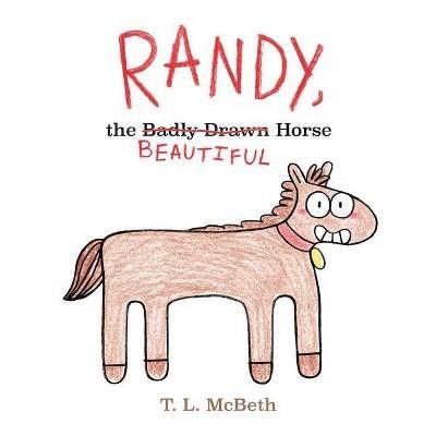 Randy, the Badly Drawn Horse book