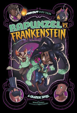 Rapunzel Vs. Frankenstein book