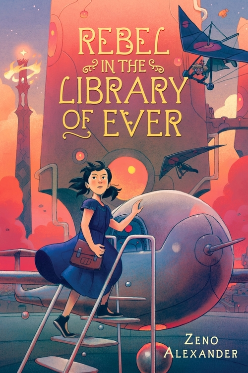 Rebel in the Library of Ever book