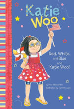 Red, White, and Blue and Katie Woo! book