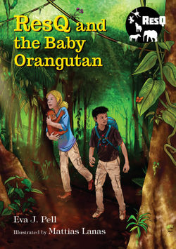 ResQ and the Baby Orangutan book