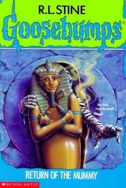 Return Of The Mummy book