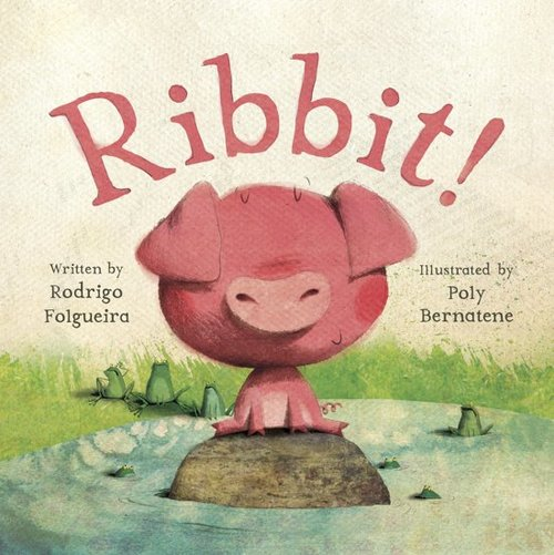 Ribbit! book