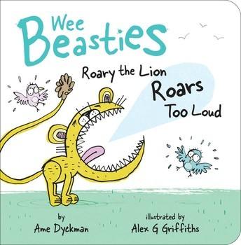 Roary the Lion Roars Too Loud book