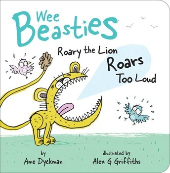Roary the Lion Roars Too Loud Book