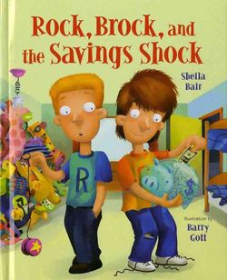 Rock, Brock, and the Savings Shock Book