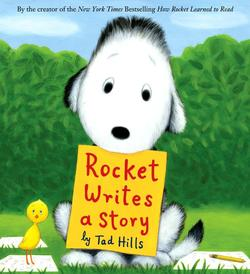 Rocket Writes a Story book