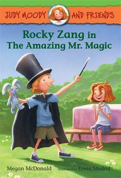 Rocky Zang in the Amazing Mr. Magic book