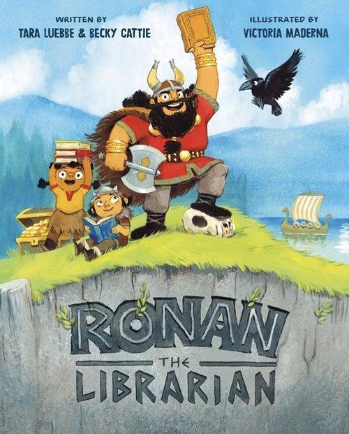 Ronan the Librarian book