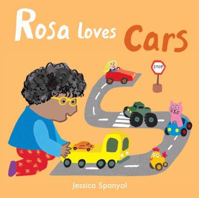 Rosa Loves Cars book